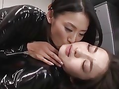 lesbian porn : sexy asian girls nude