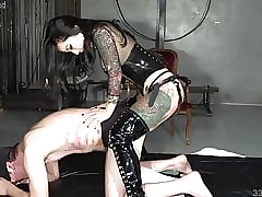 domination porn : asian girl anal